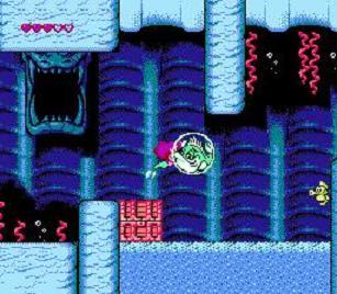Little Mermaid - Pieni Merenneito - NES Sukellus Kupla