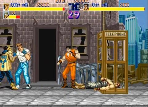 Final Fight Kaupunki Tappelu