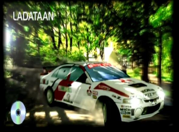 Tommi Mäkinen Rally Loading Intro